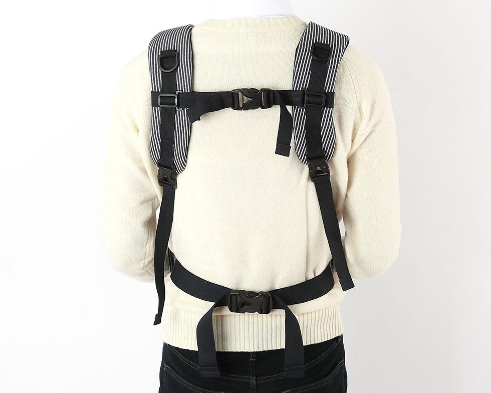 도어프론트백 스트라이프네이비(기내사용가능) - 에이미러브즈펫, 159,000원, 이동장/리드줄/야외용품, 이동가방